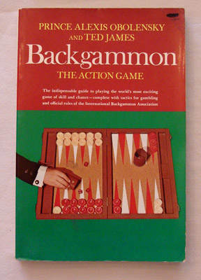 backgammon book - the action game