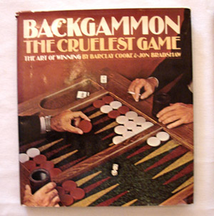 backgammon book - the cruelest game