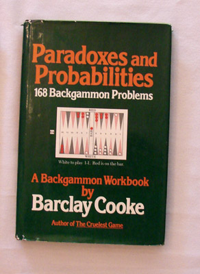 backgammon book – paradoxes and probabilities